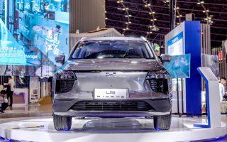 爱驰汽车再度亮相中博会,用实力诠释开放创新活力